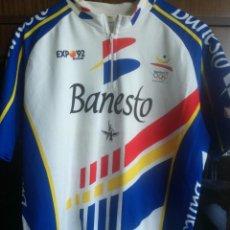 Coleccionismo deportivo: BANESTO XXL MAILLOT CICLISMO CICLISTA VINTAGE JERSEY CYCLING . Lote 153559786