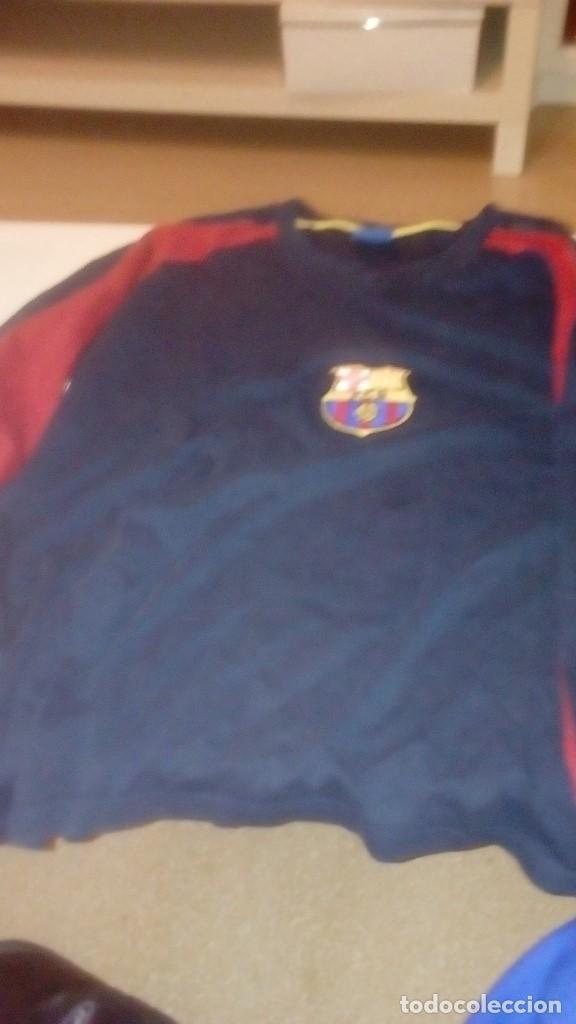 G-TN490W SUDADERA DE FUTBOL CLUB BARCELONA TALLA L (Coleccionismo Deportivo - Ropa y Complementos - Camisetas de Fútbol)