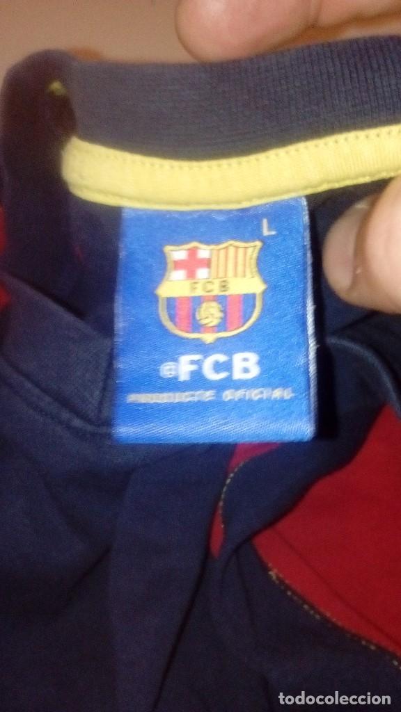 Coleccionismo deportivo: G-TN490W SUDADERA DE FUTBOL CLUB BARCELONA TALLA L - Foto 3 - 153595574