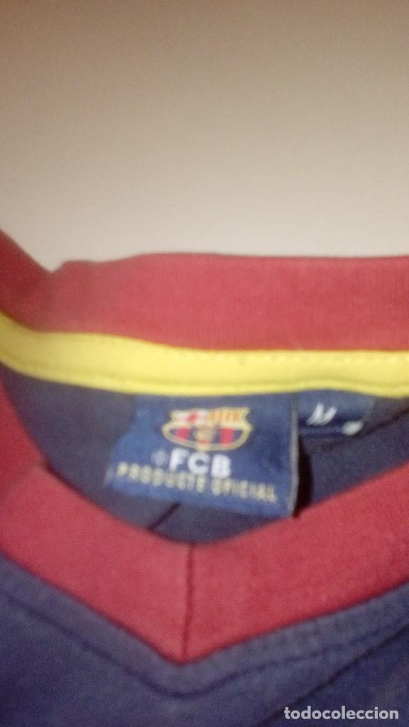 Coleccionismo deportivo: G-TN490W SUDADERA DE FUTBOL CLUB BARCELONA TALLA M CHAMPION 08 09 2008 2009 COPA LIGA CHAMPION - Foto 3 - 153595658