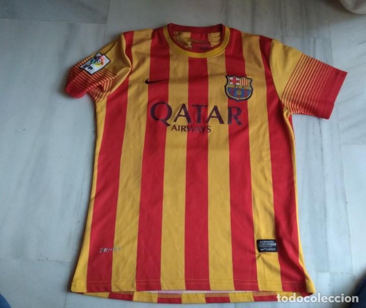 CAMISETA NEYMAR TALLA M BARCELONA (Coleccionismo Deportivo - Ropa y Complementos - Camisetas de Fútbol)