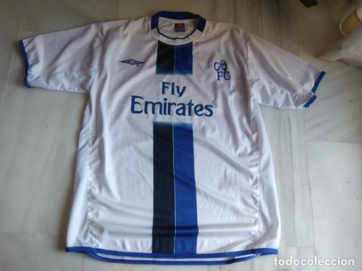 CAMISETA CHELSEA (Coleccionismo Deportivo - Ropa y Complementos - Camisetas de Fútbol)