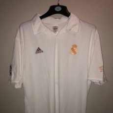 Sports collectibles - CAMISETA REAL MADRID FIGO MATCH WORN - 154023782