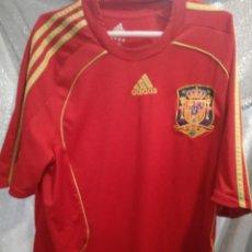 Collectionnisme sportif: ESPAÑA SPAIN L CAMISETA FUTBOL FOOTBALL . Lote 154265106