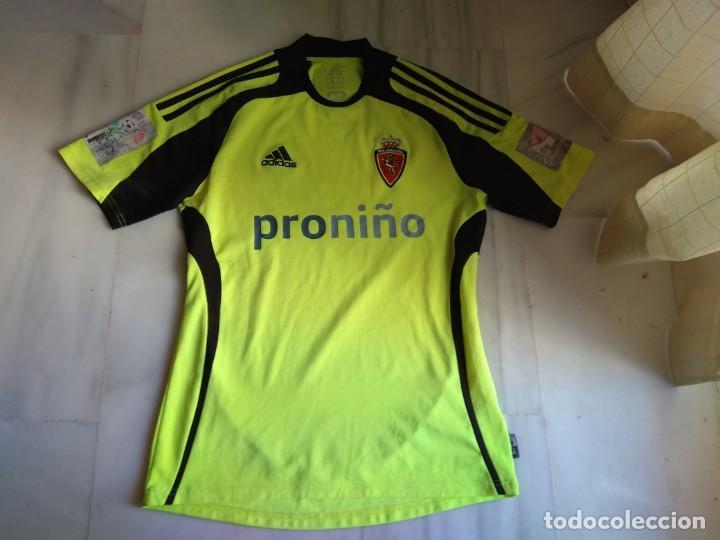 CAMISETA REAL ZARAGOZA ADIDAS PRONIÑO TALLA S (Coleccionismo Deportivo - Ropa y Complementos - Camisetas de Fútbol)