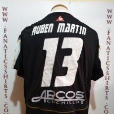 Coleccionismo deportivo: CAMISETA FUTBOL ALBACETE Nº13 RUBEN MARTIN MATCH WORN 2005-2006 . Lote 155729138
