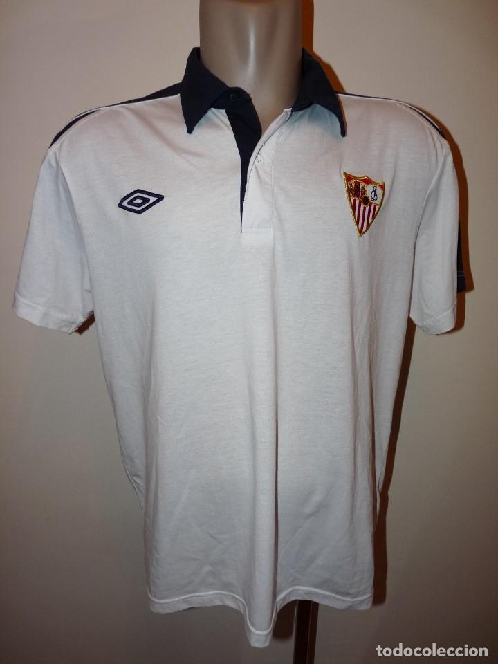 POLO UMBRO SEVILLA CF (Coleccionismo Deportivo - Ropa y Complementos - Camisetas de Fútbol)