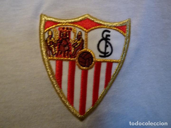 Coleccionismo deportivo: Polo Umbro Sevilla CF - Foto 3 - 277298408