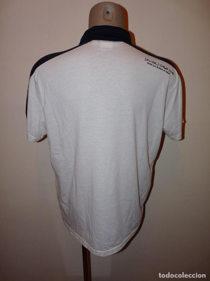 Coleccionismo deportivo: Polo Umbro Sevilla CF - Foto 5 - 277298408