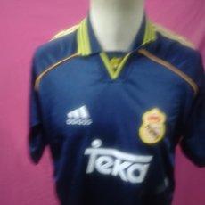 Coleccionismo deportivo: CAMISETA FUTBOL REAL MADRID TEKA ADIDAS. Lote 156242234