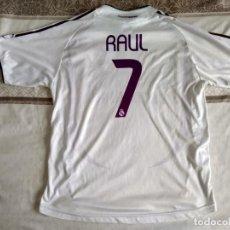 Coleccionismo deportivo: CAMISETA REAL MADRID RAUL AÑO 2006. Lote 156464178