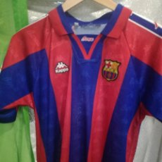 Coleccionismo deportivo: FC BARCELONA KAPPA XS FUTBOL FOOTBALL CAMISETA SHIRT . Lote 156689018
