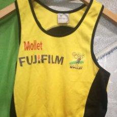Coleccionismo deportivo: MOLLET XS ATLETISMO CAMISETA SHIRT . Lote 156690778