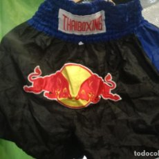 Collectionnisme sportif: RED BULL SHORTS KICKBOXING BOXEO L CAMISETA SHIRT . Lote 156690870