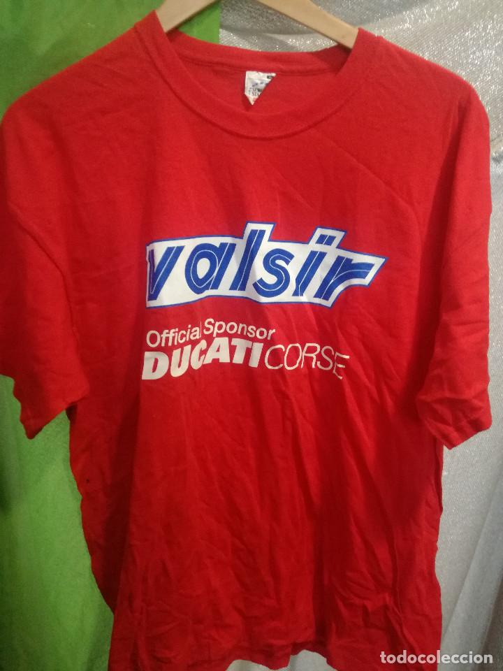 DUCATI MOTOGP CAMISETA SHIRT RACING L (Coleccionismo Deportivo - Ropa y Complementos - Camisetas de Fútbol)