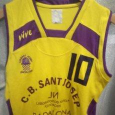Coleccionismo deportivo: SANT JOSEO BADALONA BASKET XS CAMISETA . Lote 156692342