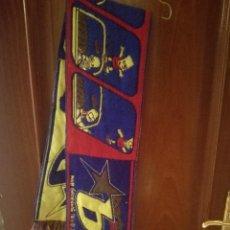 Coleccionismo deportivo: LOS SIMPSONS BUFANDA FUTBOL FOOTBALL SCARF . Lote 156695794