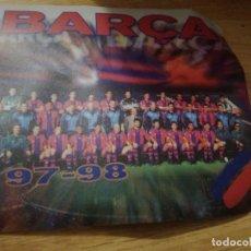 Coleccionismo deportivo: ORDENADOR MOUSE FC BARCELONA FELPUDO BUFANDA FUTBOL FOOTBALL SCARF . Lote 156695922