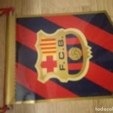Coleccionismo deportivo: BANDERIN PENNANT VINTAGE SMALL FC BARCELONA BUFANDA FUTBOL FOOTBALL SCARF . Lote 156695982