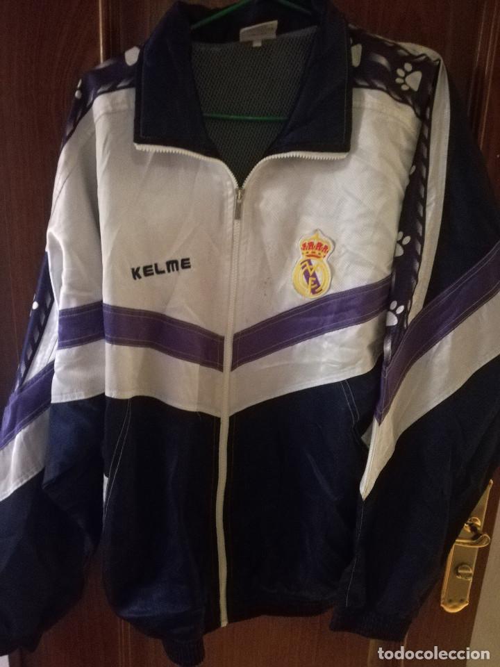 CHAQUETA KELME REAL MADRID TALLA L JACKET VINTAGE | eBay