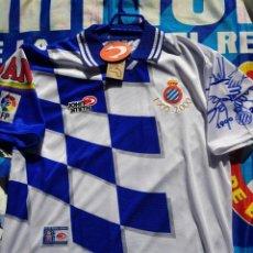Coleccionismo deportivo: CAMISETA DEL.CENTENARIO DEL.RCD ESPANYOL NUEVA!!!. Lote 157957986