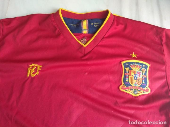Coleccionismo deportivo: CAMISETA SELECCIÓN ESPAÑOLA CRUZCAMPO TALLA L - Foto 2 - 158080318