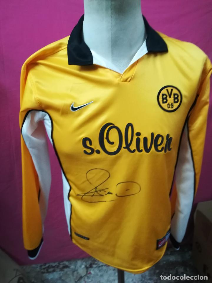 09 oliver Bvb Original Borussia Reina Futbol Nike Camiseta S Firmada Dortmund Nº13 WHDI2YE9