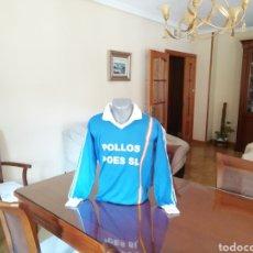 Coleccionismo deportivo: CAMISETA PUEBLA PATRIA FUTBOL. AÑOS 80. REPLICA EXCELENTE.. Lote 159450348