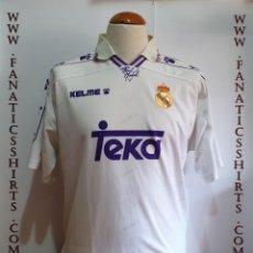 Coleccionismo deportivo: CAMISETA FUTBOL REAL MADRID 1994-1995 KELME . Lote 159613550