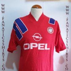 Coleccionismo deportivo: CAMISETA FUTBOL BAYERN MUNICH 1991 ALGODON TIENDA . Lote 159621750