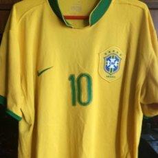 Sports collectibles - BRASIL RONALDINHO L camiseta futbol football shirt - 159909750