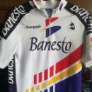 Coleccionismo deportivo: BANESTO SPECIAL EDITION L CICLISMO CICLISTA MAILLOT CYCLING JERSEY VINTAGE . Lote 159914210