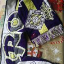Coleccionismo deportivo: CF MURO ALCOY SCARF BUFANDA FUTBOL FOOTBALL . Lote 159915146