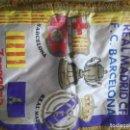 Coleccionismo deportivo: REAL MADRID FC BARCELONA VINTAGE LUXE BANDERIN FINAL FOOTBALL PENNANT FUTBOL . Lote 159915422