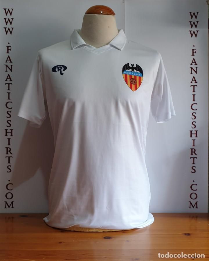 0c3e1e5ae Camiseta futbol valencia c.f nº10 retro ressy 7 - Vendido en Venta ...