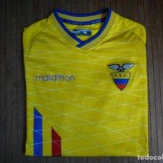 Coleccionismo deportivo: CAMISETA SELECCIÓN NACIONAL DE ECUADOR. MARATHON. TALLA XL. Lote 160031554