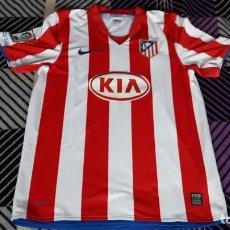 Coleccionismo deportivo: CAMISETA ORIGINAL Y OFICIAL CLUB ATLETICO DE MADRID TEMPORADA 2008 2009 08 09. Lote 160636746