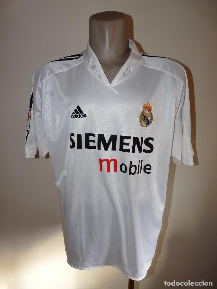 official photos e35c0 03a6e Camiseta Adidas Real Madrid CF Siemens mobile
