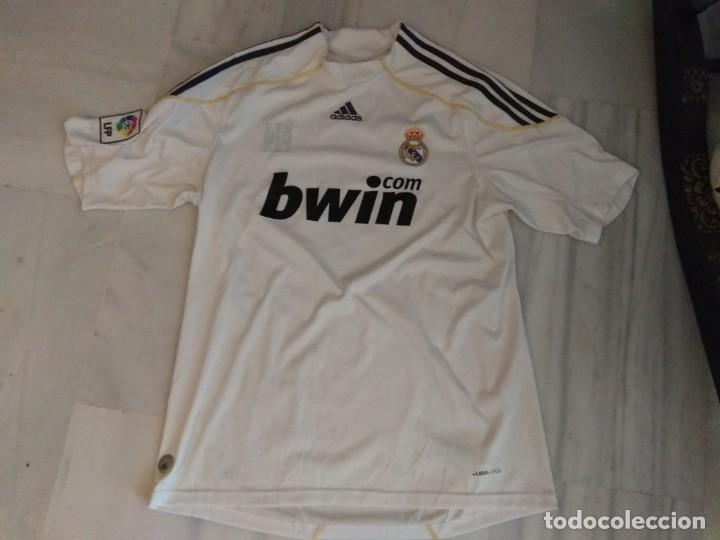 CAMISETA REAL MADRID B BWIN RONALDO 9 TALLA L (Coleccionismo Deportivo - Ropa y Complementos - Camisetas de Fútbol)