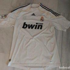Coleccionismo deportivo: CAMISETA REAL MADRID B BWIN RONALDO 9 TALLA L . Lote 162634286