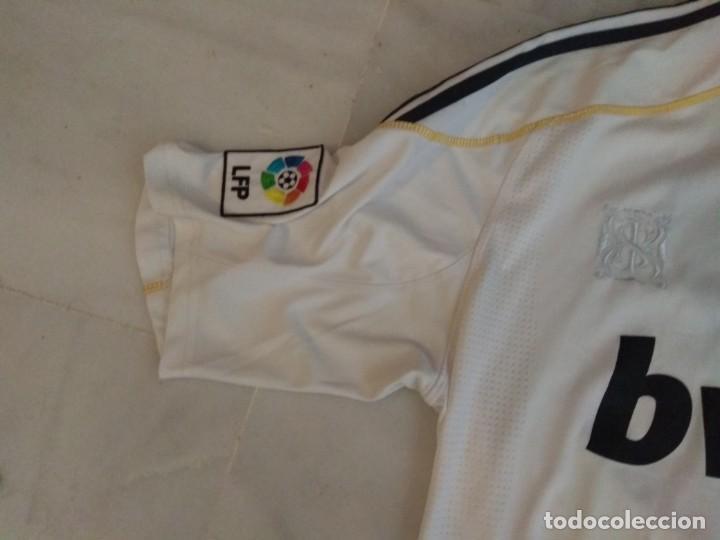 Coleccionismo deportivo: CAMISETA REAL MADRID B BWIN RONALDO 9 TALLA L - Foto 4 - 162634286