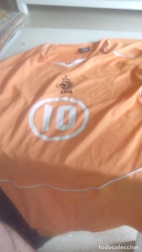 G-FUE18G CAMISETA DE FUTBOL NARANJA HOLANDA TALLA XL LA DE FOTO (Coleccionismo Deportivo - Ropa y Complementos - Camisetas de Fútbol)