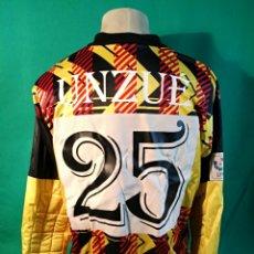 Coleccionismo deportivo: CAMISETA ERIMA MATCH WORN REAL OVIEDO JUAN CARLOS UNZUE 1999. Lote 162815452