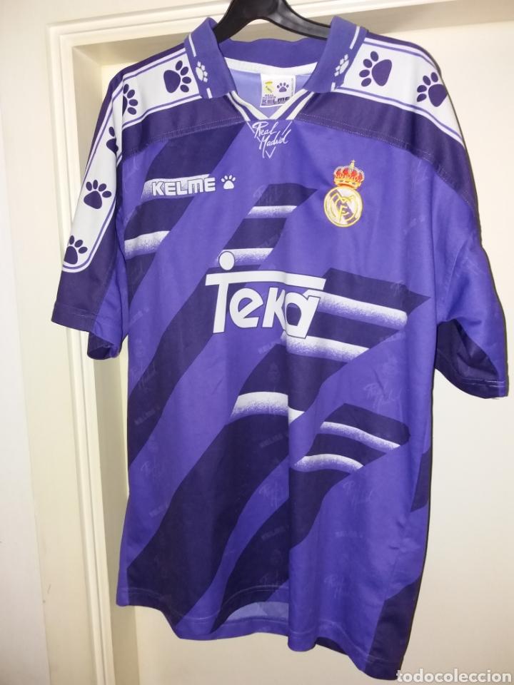 ANTIGUA CAMISETA OFICIAL REAL MADRID - KELME (Coleccionismo Deportivo - Ropa y Complementos - Camisetas de Fútbol)