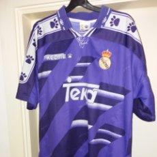 Colecionismo desportivo: ANTIGUA CAMISETA OFICIAL REAL MADRID - KELME. Lote 163567729