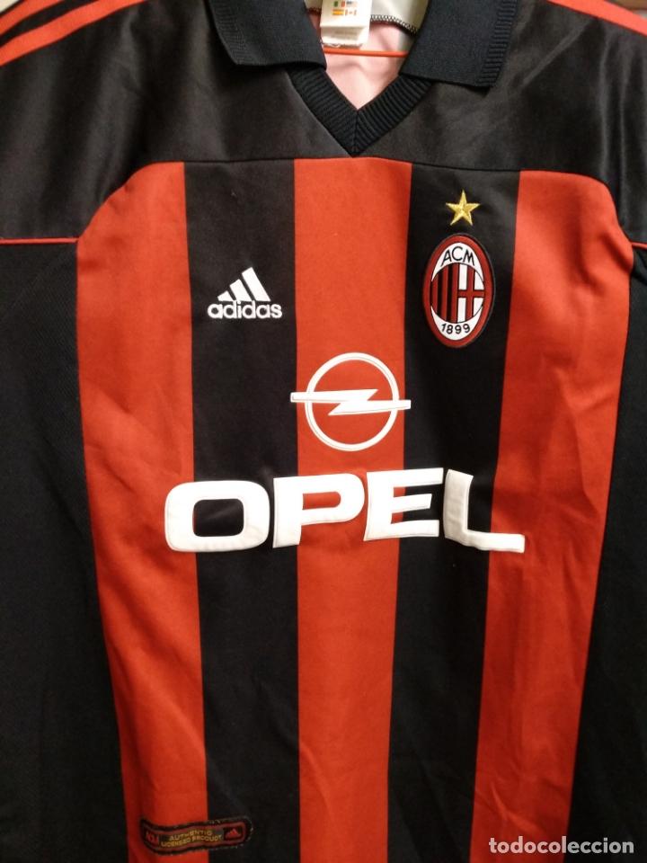 vecino traducir Educación moral  camiseta calcio - a.c. milan - 2000 2001 - opel - Buy Football T ...