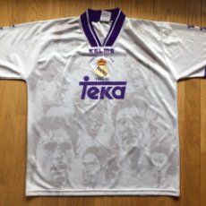 Coleccionismo deportivo: CAMISETA KELME TEKA REAL MADRID CAMPEONES DE LIGA 1996 1997 ORIGINAL. Lote 164730398