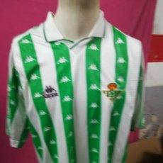 Coleccionismo deportivo: CAMISETA FUTBOL ORIGINAL KAPPA REAL BETIS BALOMPIE. Lote 165066326