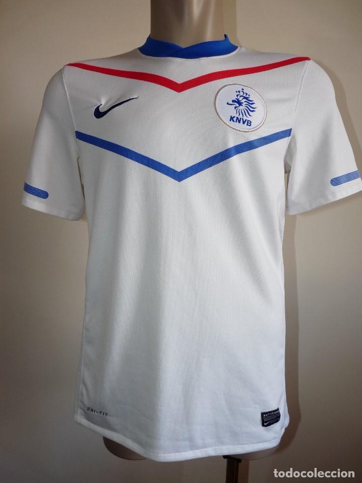 CAMISETA NIKE BLANCA SELECCIÓN HOLANDA (Coleccionismo Deportivo - Ropa y Complementos - Camisetas de Fútbol)