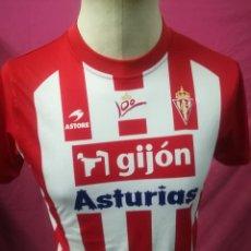 Coleccionismo deportivo: CAMISETA FUTBOL ORIGINAL ASTORE SPORTING DE GIJON ASTURIAS 100. Lote 165511422